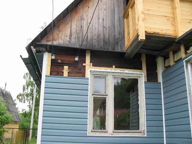 Отделка фасадов деревянных домов своими руками